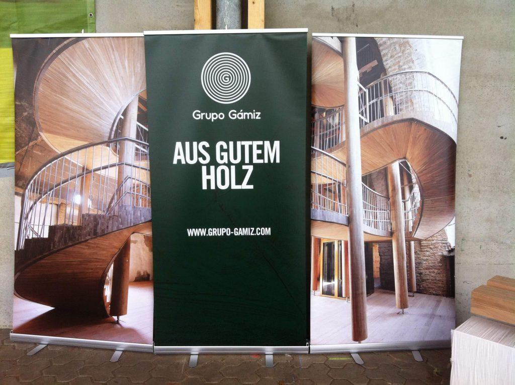 BSH Eiche-Grupo Gamiz-Aus gutem Holz-Rollup